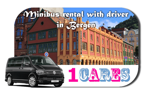 Rent a van with driver in Bergen