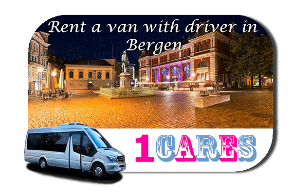 Hire a van with driver in Bergen