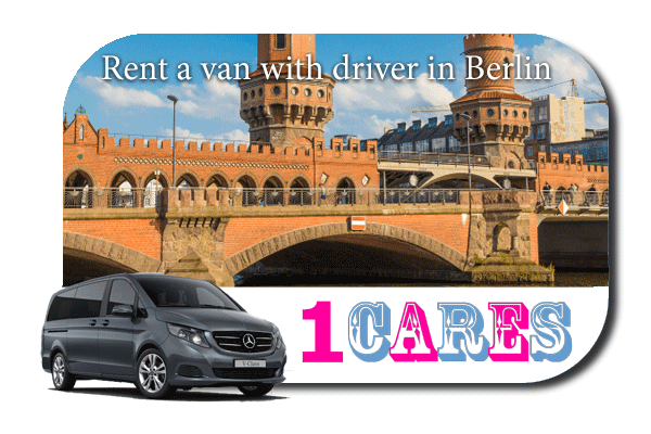 Hire a van with driver in Berlin