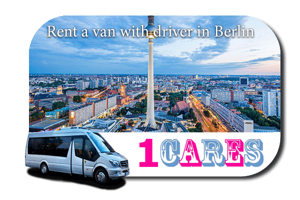 Hire a minibus with driver in Berlin