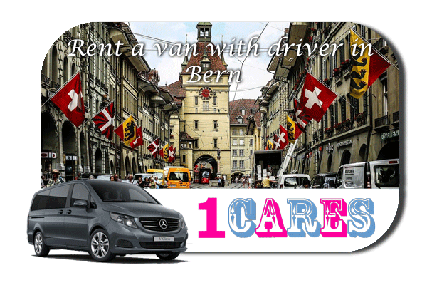 Minibus rental with driver in Bern
