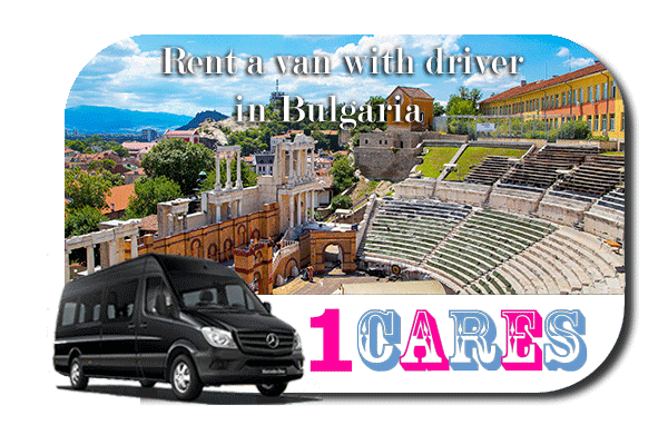 Rent a van with driver in Bulgaria