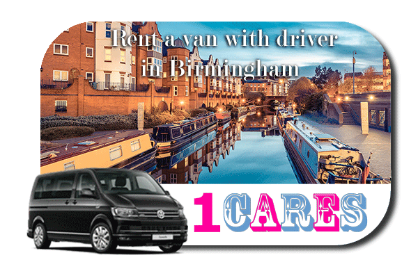 Rent a van with driver in Birmingham