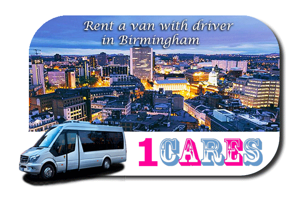 Hire a van with driver in Birmingham