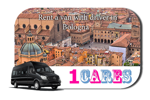 Rent a van with driver in Bologna
