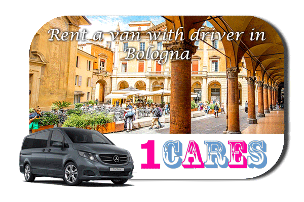 Hire a van with driver in Bologna