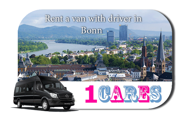 Rent a van with driver in Bonn