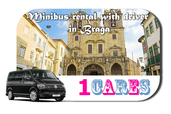 Rent a van with driver in Braga