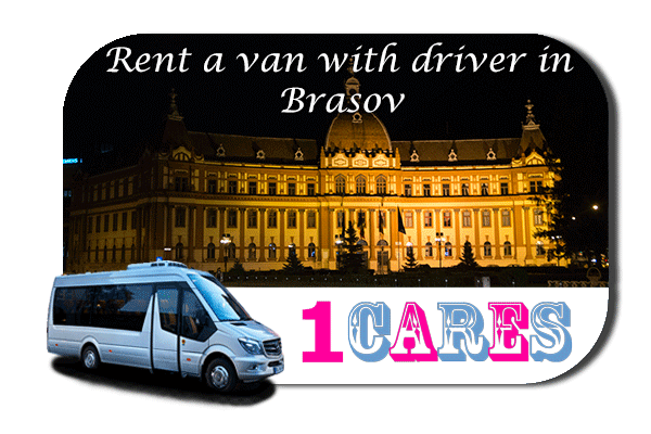 Hire a van with driver in Brasov