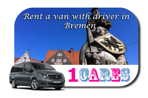 Hire a van with driver in Bremen