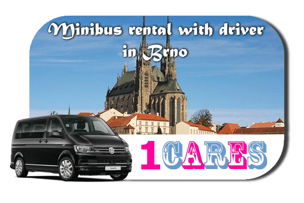 Rent a van with driver in Brno