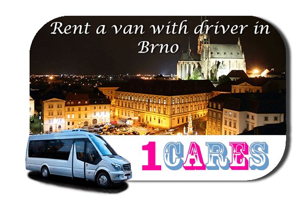 Hire a van with driver in Brno