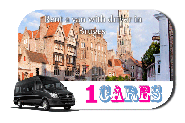 Hire a van with driver in Bruges