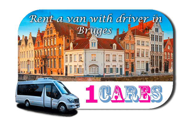 Minibus rental with driver in Bruges