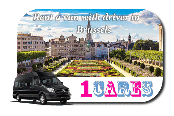 Rent a van with driver in Brussels