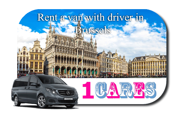 Hire a van with driver in Brussels