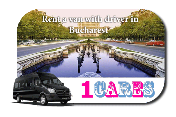 Rent a van with driver in Bucharest