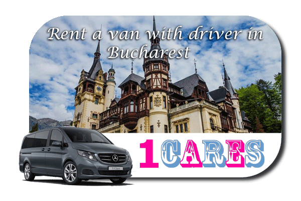 Minibus rental with driver in Bucharest