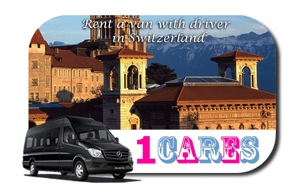 Hire a van with driver in Switzerland