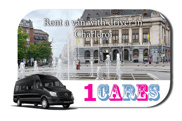 Rent a van with driver in Charleroi