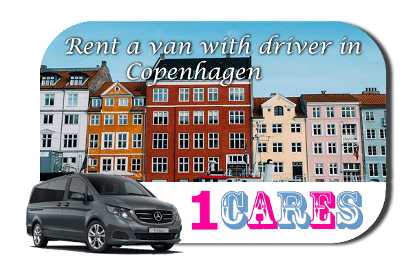 Hire a van with driver in Copenhagen