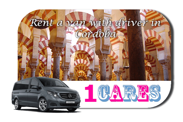 Rent a van with driver in Cordoba