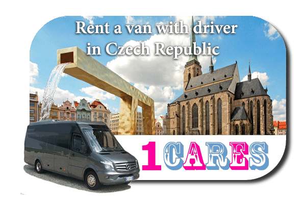 Rent a van with driver in Czech Republic