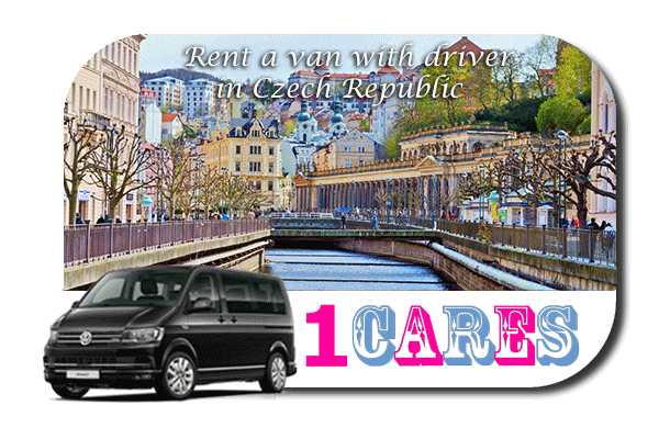 Hire a van with driver in Czech Republic
