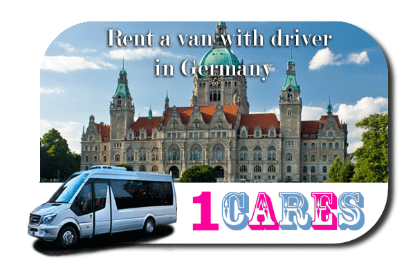 Rent a van with driver in Germany