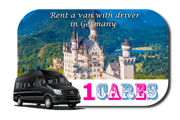 Hire a van with driver in Germany