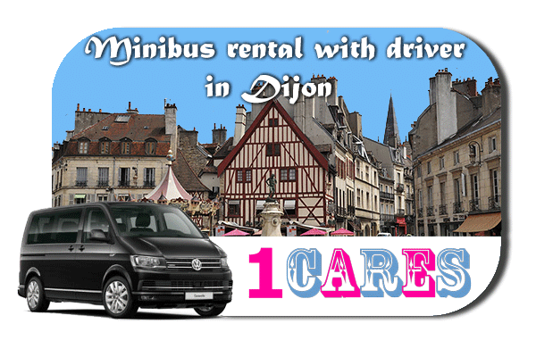 Rent a van with driver in Dijon