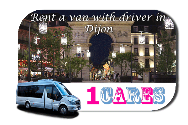 Hire a van with driver in Dijon