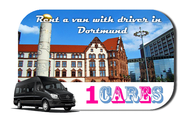 Rent a van with driver in Dortmund