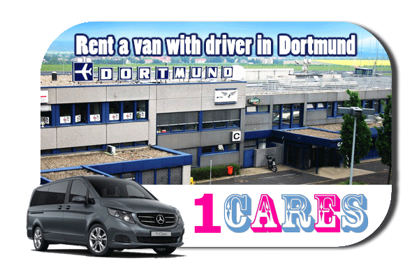 Hire a van with driver in Dortmund