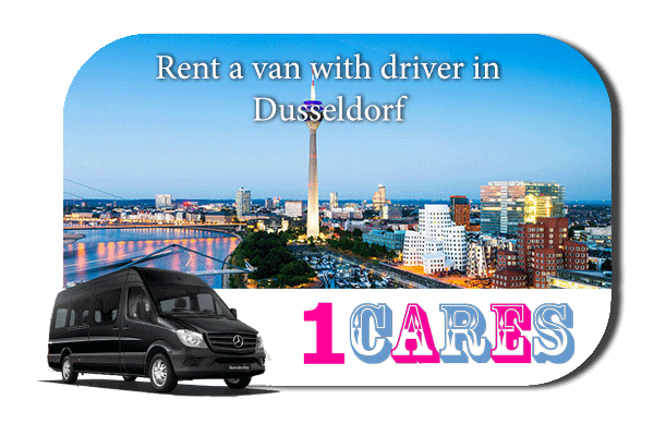 Rent a van with driver in Düsseldorf