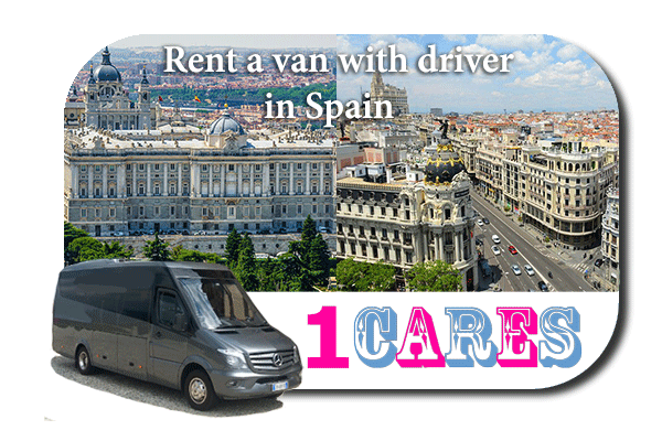 Rent a van with driver in Spain