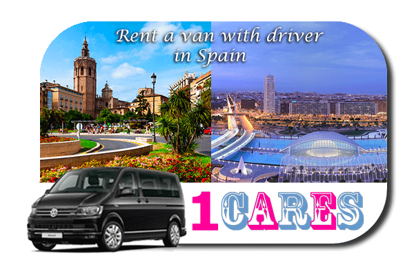 Hire a van with driver in Spain
