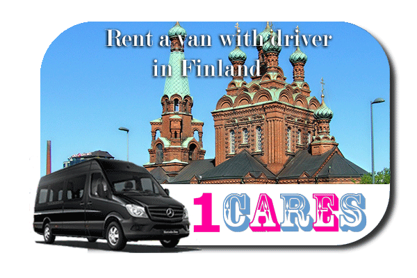 Rent a van with driver in Finland