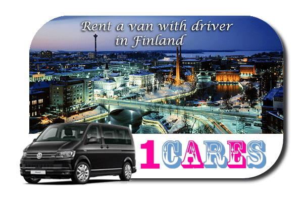 Hire a van with driver in Finland