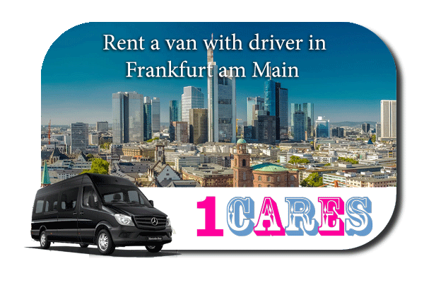 Rent a van with driver in Frankfurt
