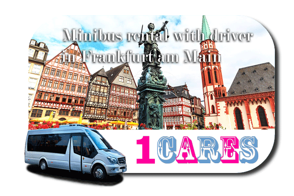 Hire a van with driver in Frankfurt