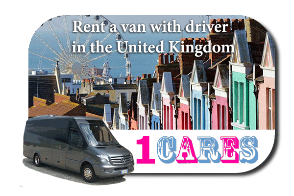 Rent a van with driver in the UK