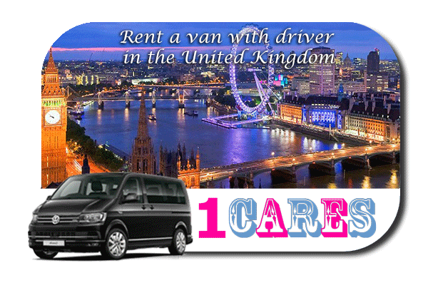 Hire a van with driver in the UK