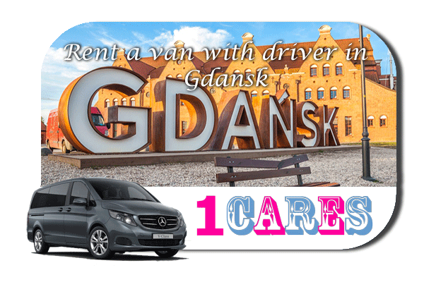 Hire a van with driver in Gdansk