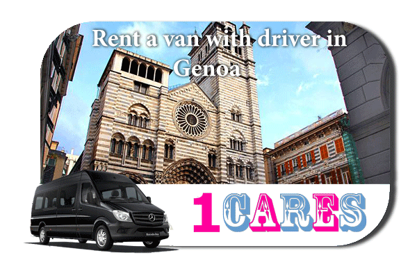 Rent a van with driver in Genoa