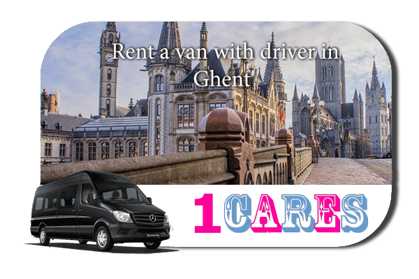 Rent a van with driver in Ghent