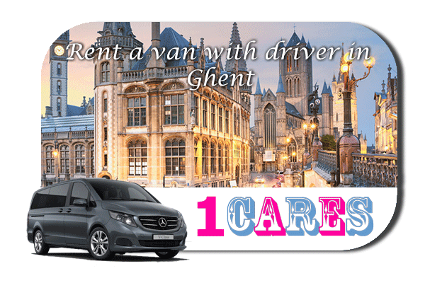 Hire a van with driver in Ghent