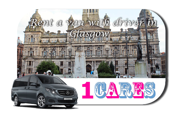 Rent a van with driver in Glasgow