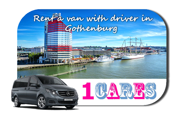 Hire a van with driver in Gothenburg
