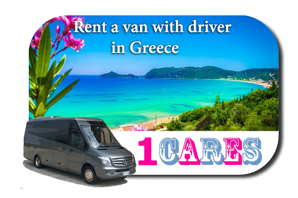 Rent a van with driver in Greece